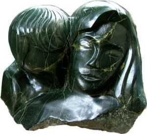 Sculpture de jean-francois caron: Couple
