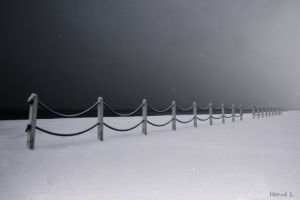 Photo de Herve L: Snow in Cabourg