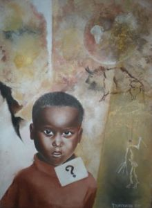 Peinture de alphabel: Africa his story