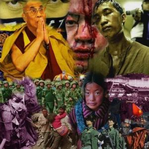 Collage de FRED: TIBET!