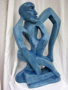 Sculpture de jerome burel: Monsieur O