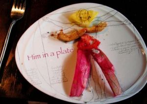 Art_numerique de BBPANTONE: Him in a plate