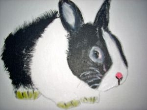 Peinture de LODYA: THE RABBIT
