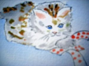 Peinture de LODYA: THE CAT