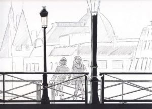 Dessin de Arsene Gully: Paris 2010