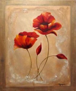 Peinture coquelicot sur livegalerie - Peinture chambre jeune homme ...