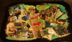 Collage de LAURENCE A: TABLE LIBERTINE
