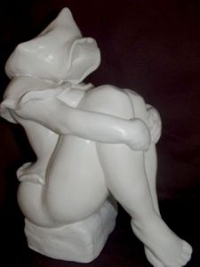 Sculpture de evym: CHAPERON ROUGE