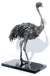 Sculpture de Bene: MISS BLING-BLING