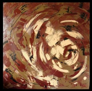Peinture de abstrack: Turn turn in my head