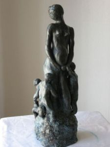 Sculpture de marie: maternité