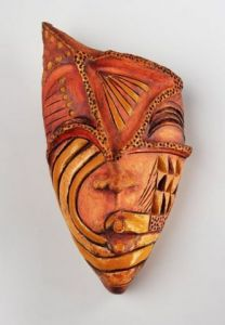 Sculpture de Belmat Nadia : Mask X