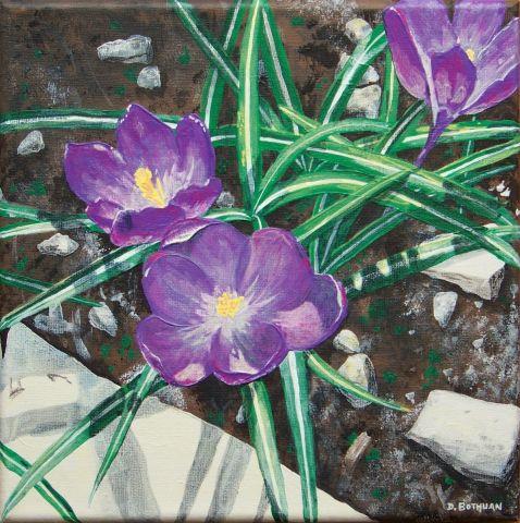 Les FLEURS  dans  L'ART - Page 11 107834