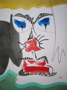 Dessin de cavalli-sculpteur: Clown