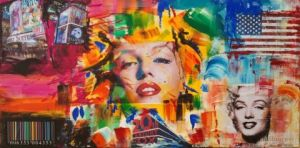 Peinture de emmameliart: pop legend