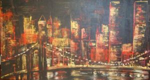 Peinture de VERONIKA L: NEW YORK 3