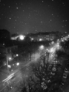 Photo de Andy Augustino: Neige sur la ville