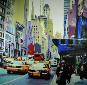 Peinture de CLOTILDE NADEL: NEW YORK