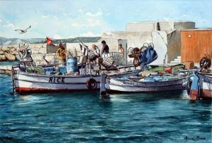 L Artiste Marcel Boos Ruelle Du Vieux Nice