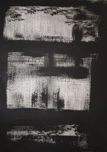 Peinture de MALAVOI: Black and White 2