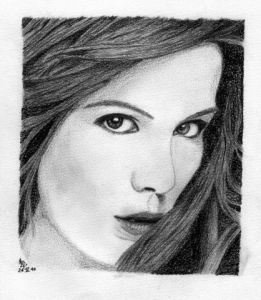 Dessin de Emde: Kate Beckinsale