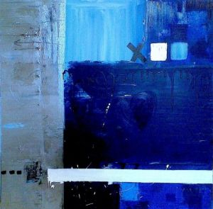 Peinture de natib: BLUE LOVE