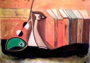 Peinture de BARKI: IN THE BOOKS