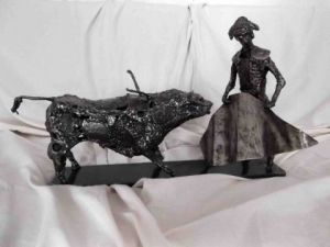 Sculpture de jim: corrida