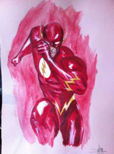 Dessin de Anthony Darr : Flash
