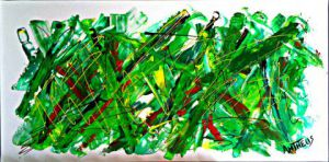 Peinture de ANTHEUS: GREEN MORNING