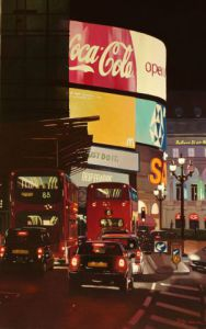 Voir cette oeuvre de PHILIPPE LEROUX: Piccadilly Circus