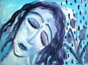 Peinture de MARIE INDIGO: ''Mother's day ''