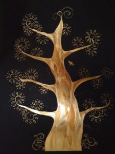 Illustration de Le Chaudron Encreur: Arbre d'or