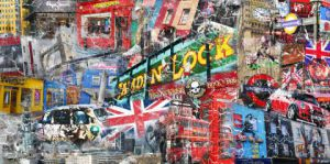 Art_numerique de stephane guenet: LONDRES BY TRUXTMAN