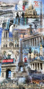 Art_numerique de stephane guenet: PARIS BY TRUXTMAN