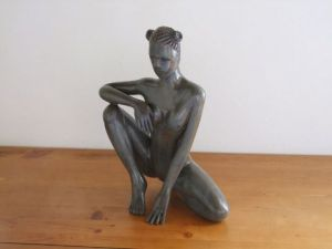 Sculpture de Xavier Jarry-Lacombe: Panth�re Noire