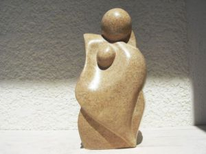Sculpture de pascaline: LA TENDRESSE