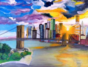 Peinture new-york sur LiveGalerie