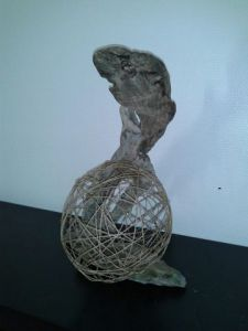 Sculpture de Angelique Prieto: le serpent