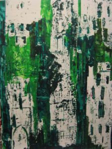 Peinture de CatellK: Evolution verte