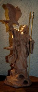 Sculpture de Joel Roussin: Gandalf