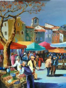 Peinture de Dany MARCODINI: le march�