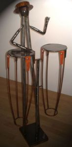 Sculpture de Roger FLORES: Percussion