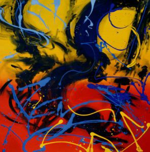 Peinture de Moona: ABSTRACT 14