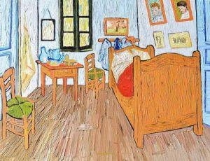 Chambre de van gogh arles peinture bleu de prusse Chambre van gogh