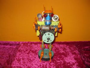 Sculpture de bellagamba  gilles: n°55 robot collection