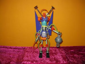 Sculpture de bellagamba  gilles: n°75  Robot collection