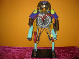 Sculpture de bellagamba  gilles: n°33  Robot collection