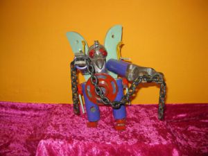 Sculpture de bellagamba  gilles: n°60  Robot collection