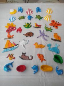 Artisanat de Catherine Dutailly: folie Magnets